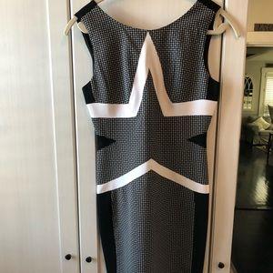 DVF star mini dress size 4